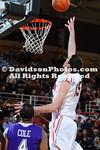 12 January 2012:  Davidson defeats Western Carolina 88-67 as Jake Cohen scores his 1000 point in SoCon basketball action at Belk Arena in Davidson, North Carolina.