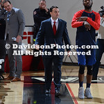 NCAA BASKETBALL:  FEB 24 Dayton at Davidson
