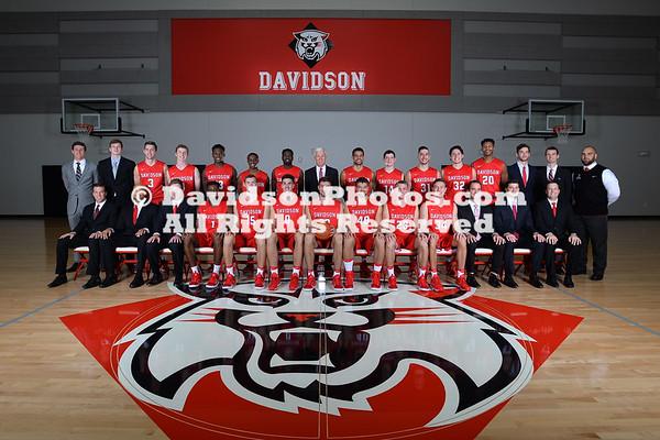 NCAA ATHLETICS:  SEP 22 Davidson Team Photo Day