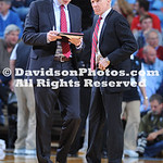 NCAA BASKETBALL:  DEC 07 Davidson at North Carolina