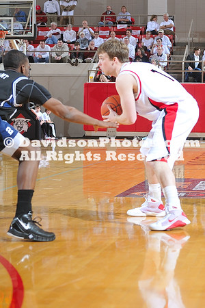 21 February 2009:  Butler shuts down Davidson 75-63 in ESPN's showcase Bracketbuster game.
