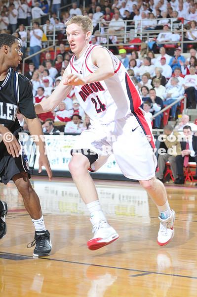 21 February 2009:  Butler shuts down Davidson 75-63 in ESPN's showcase Bracketbuster game.