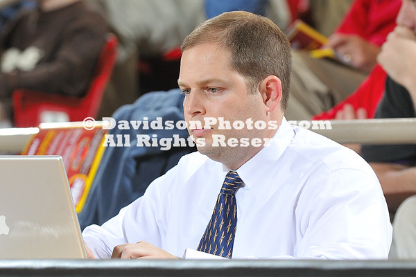 DAVIDSON, NC - Sports Information Director Marc Gignac, writes another boring story about Davidson basketball - NOT!