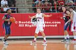 DAVIDSON, NC -  Davidson defeats University of Pennsylvania 79-50 in non-conference men's basketball action held at Belk Arena in Davidson, North Carolina.