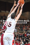 DAVIDSON, NC -  Davidson defeats UMass 63-61 in non-conference men's basketball action held at Belk Arena in Davidson, North Carolina.
