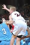DAVIDSON, NC -  Davidson defeats The Citadel 67-63 (OT) in SoCon action at Belk Arena in Davidson, North Carolina.