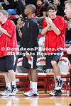 DAVIDSON, NC -  Davidson defeats College of Charleston 86-71 in SoCon play at Belk Arena in Davidson, North Carolina.