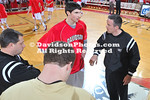 DAVIDSON, NC -  Wofford defeats Davidson 73-51 in SoCon action at Belk Arena in Davidson, North Carolina.