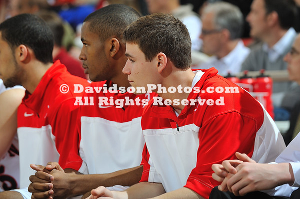 24 February 2011:  Davidson defeats Elon 83-75 in SoCon basketball action at Belk Arena in Davidson, North Carolina.