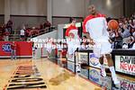 23 February 2012: Davidson defeats SoCon basketball foe Elon 66-45 in their final home game of the season at John M. Belk Arena in Davidson, North Carolina.