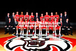 12 October 2011:  Davidson men's and women's basketball team sits for their annual head and team photos at Belk Arena in Davidson, North Carolina.