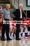 21 November 2011:   JP Kuhlman and Nik Cochran each scored 16 points, and the Wildcats gave up just 23 points in the second half in a 68-54 men's basketball victory over Presbyterian Monday night at Belk Arena in Davidson, North Carolina.