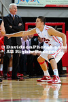 01 November 2012: Davidson men's basketball defeats Belmont Abbey, 121-73 in a preseason exhibition contest at Belk Arena in Davidson, North Carolina.