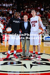 19 January 2013:  De'Mon Brooks led four Davidson players in double figures with 17 points as the Wildcats defeated SoCon rival College of Charleston, 77-68, in men's basketball action Saturday evening at Belk Arena in Davidson, North Carolina.