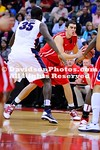 25 November 2012: Elias Harris (24) and Kevin Pangos (23) combined for 47 points to lift No. 17 Gonzaga over Davidson, 81-67, Sunday evening in the 2012 Old Spice Classic Championship at the ESPN Wide World of Sports HP Fieldhouse in Kissimmee, Florida.