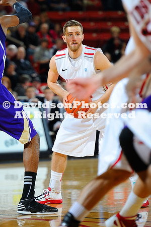 07 February 2013:  Jake Cohen recorded his first double-double of the season with a season-high 24 points and 12 rebounds to lead Davidson to a 73-59 victory over Western Carolina in Southern Conference men's basketball action Thursday evening at Belk Arena in Davidson, North Carolina.