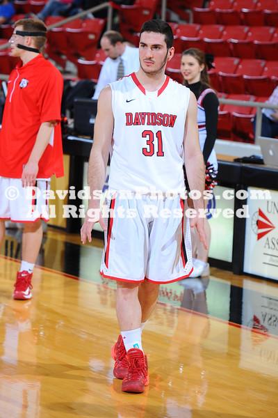 NCAA BASKETBALL:  FEB 27 UNC Greensboro at Davidson