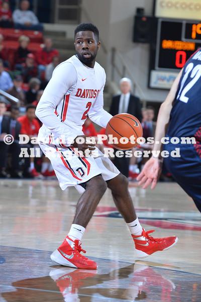 NCAA BASKETBALL:  JAN 06 Duquesne at Davidson