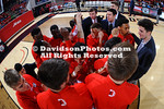 NCAA BASKETBALL:  FEB 10 La Salle at Davidson