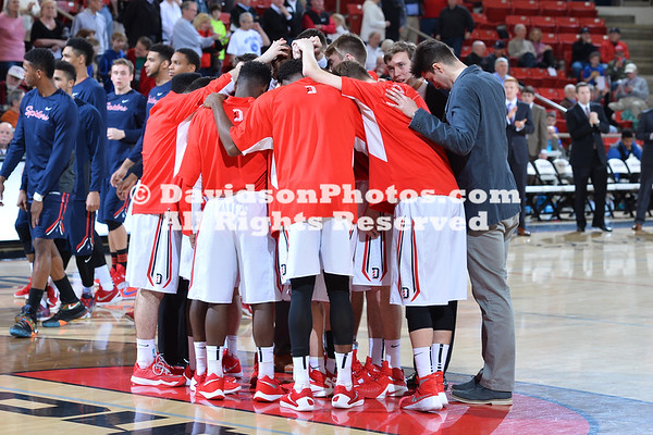 NCAA BASKETBALL:  FEB 16 Richmond at Davidson