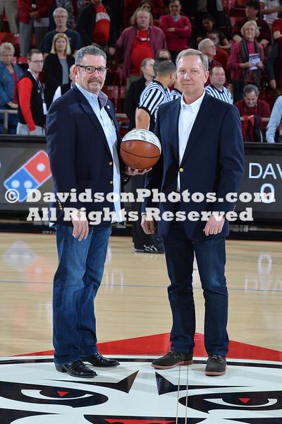 NCAA BASKETBALL:  FEB 20 Saint Joseph's at Davidson