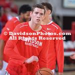 NCAA BASKETBALL:  NOV 10 Charleston Southern at Davidson