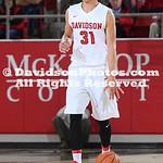 NCAA BASKETBALL:  NOV 14 UNC Wilmington at Davidson