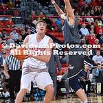 NCAA BASKETBALL:  JAN 10 George Washington at Davidson