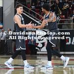 NCAA BASKETBALL:  JAN 19 St. Bonaventure at Davidson