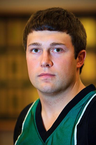 """# 11 Matt Ashley<br /> <br /> Position: Guard<br /> Height: 6'3""""<br /> Class: Senior<br /> Hometown: Rosebud, MT"""