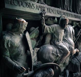 Exterior of the Duomo di Milano (Milan Cathedral) - Milan, Italy Photo by Bonnie Ryan