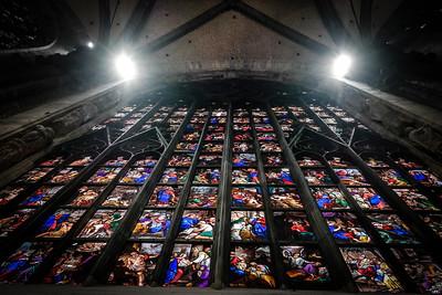 Interior of the Duomo di Milano (Milan Cathedral) - Milan, Italy Photo by Bonnie Ryan