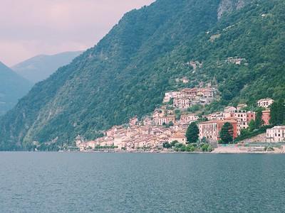 Private residences on Lake Como Photo by Megan McKenna