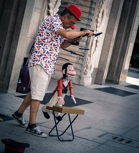 Street performer - Milan, Italy Photo by Bonnie Ryan
