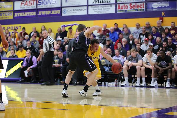 Men's Basketball vs Whitewater D3