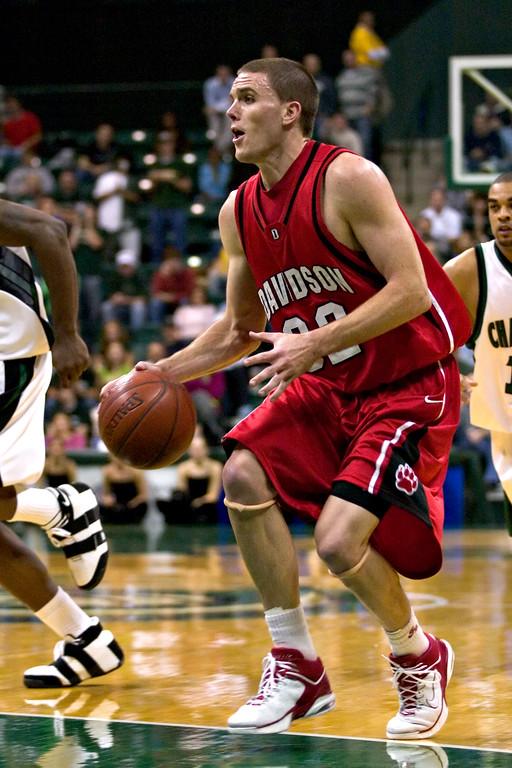 davidson college versus unc-c men's basketball ncaa sports photos pics photography pictures
