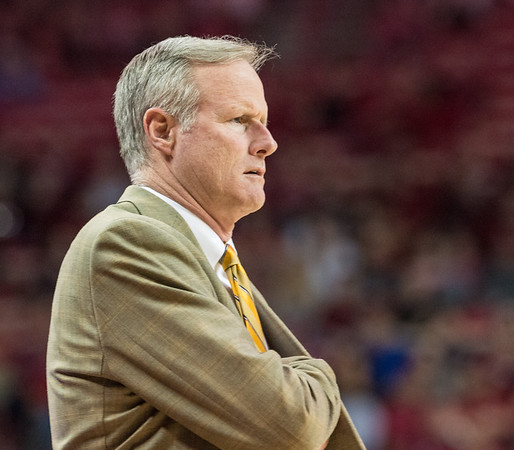 Missouri Tigers head coach Kim Anderson during a basketball game between Arkansas and Missouri on 2-20-16.   (Alan Jamison, Nate Allen Sports Service)