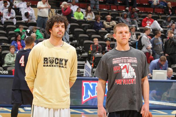 First Round action at the 2014 NAIA Men's Division I Basketball National Championship, Municipal Auditorium, Kansas City, Missouri. photo: Creative Images Photography