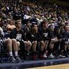 Men's basketball team bench