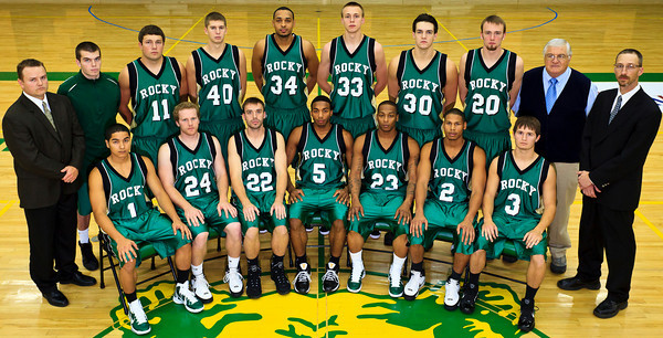 Men's Basketball, Varsity Team Photo '10-'11