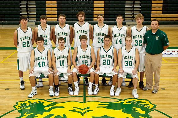 Men's Basketball, Junior Varsity Team Photo '09-'10