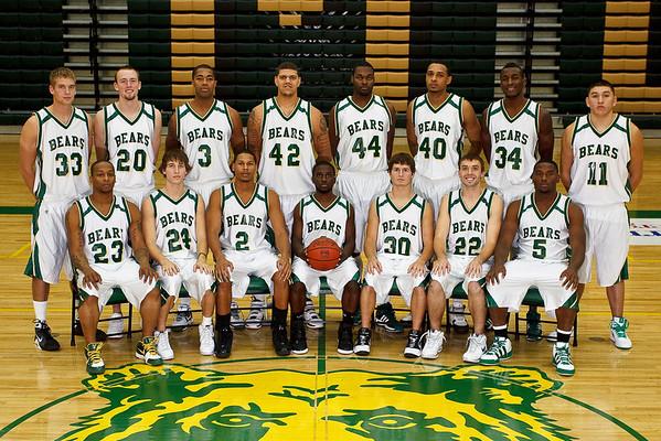Men's Basketball, Varsity Team Photo '09-'10