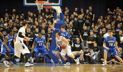 ISU defeats nationally ranked Creighton at Hulman Center.