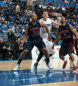 ISU faces Robert Morris University in the opening round of the CIT tournament at Hulman Center