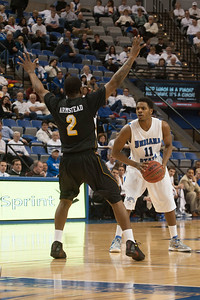 The Indiana State men's basketball team rallied late in the game, but the Sycamores fell to the Shockers 66-62 inside Hulman Center.