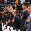 Men's basketball national anthem