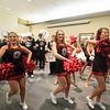 Maverick Marching Band and Cheerleaders