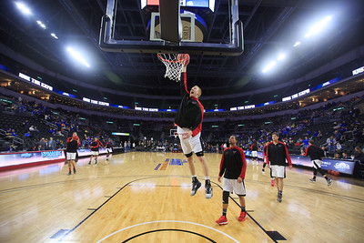 Basketball warmups, Mitch Hahn