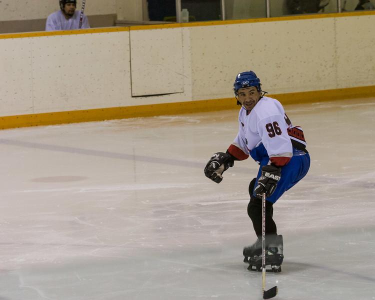Men's hockey in Moosonee 2005 November 24th.
