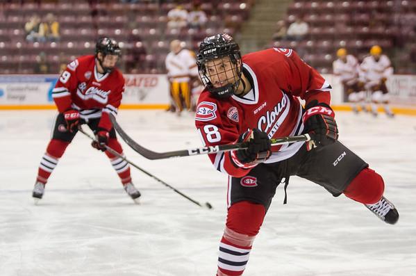 Men's Hockey vs. Minnesota 10-21 & 10-22-2016